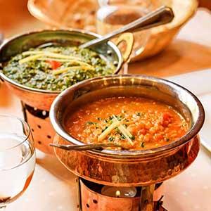 Indische Saucen und Dips